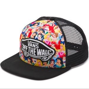 Vans L.E Disney princess trucker snapback hat